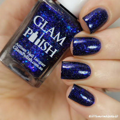 Glam Polish Fantastic Fandoms Exclusives I Move The Stars For No One Swatches and Review