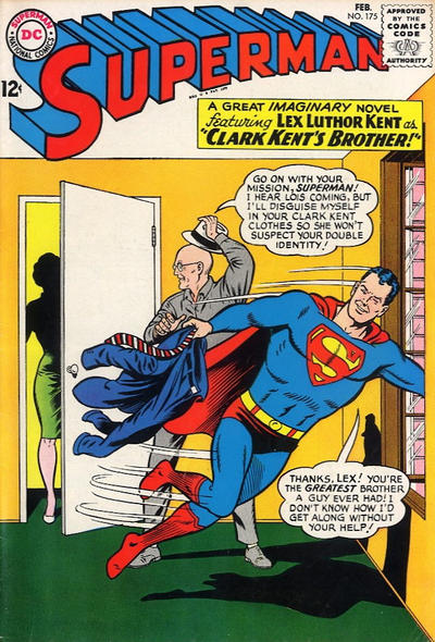 Episode #379 Part II: Superman Comic Book Cover Dated February 1965: Superman #175!