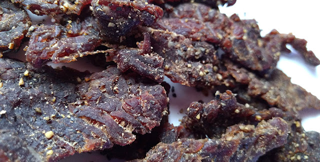 black pepper orange teriyaki jerky