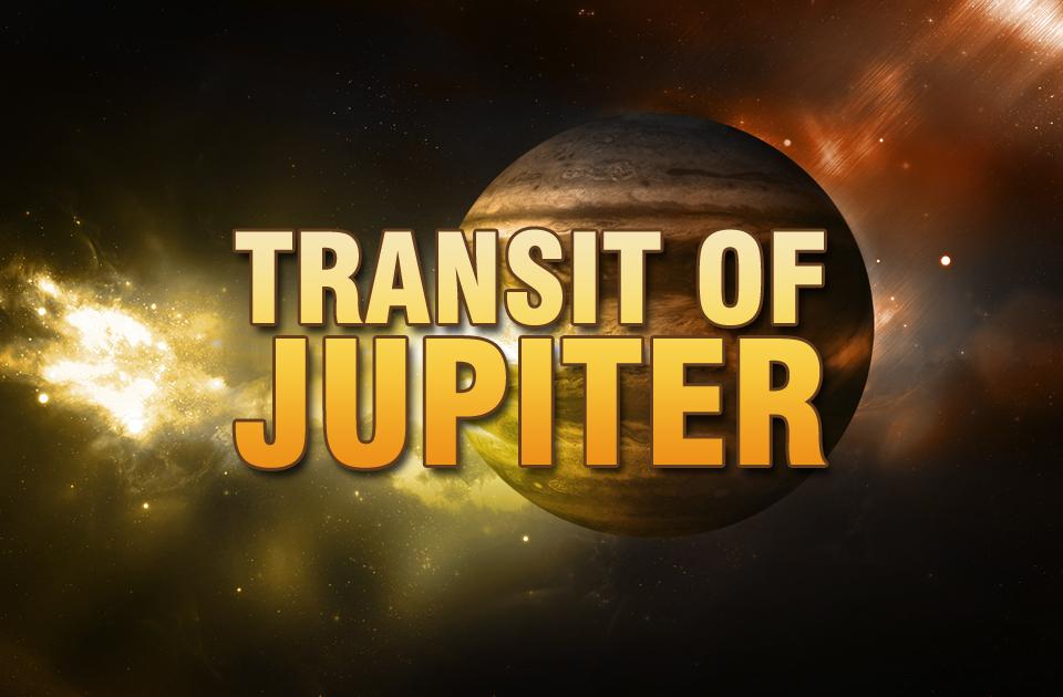 Transit of Jupiter