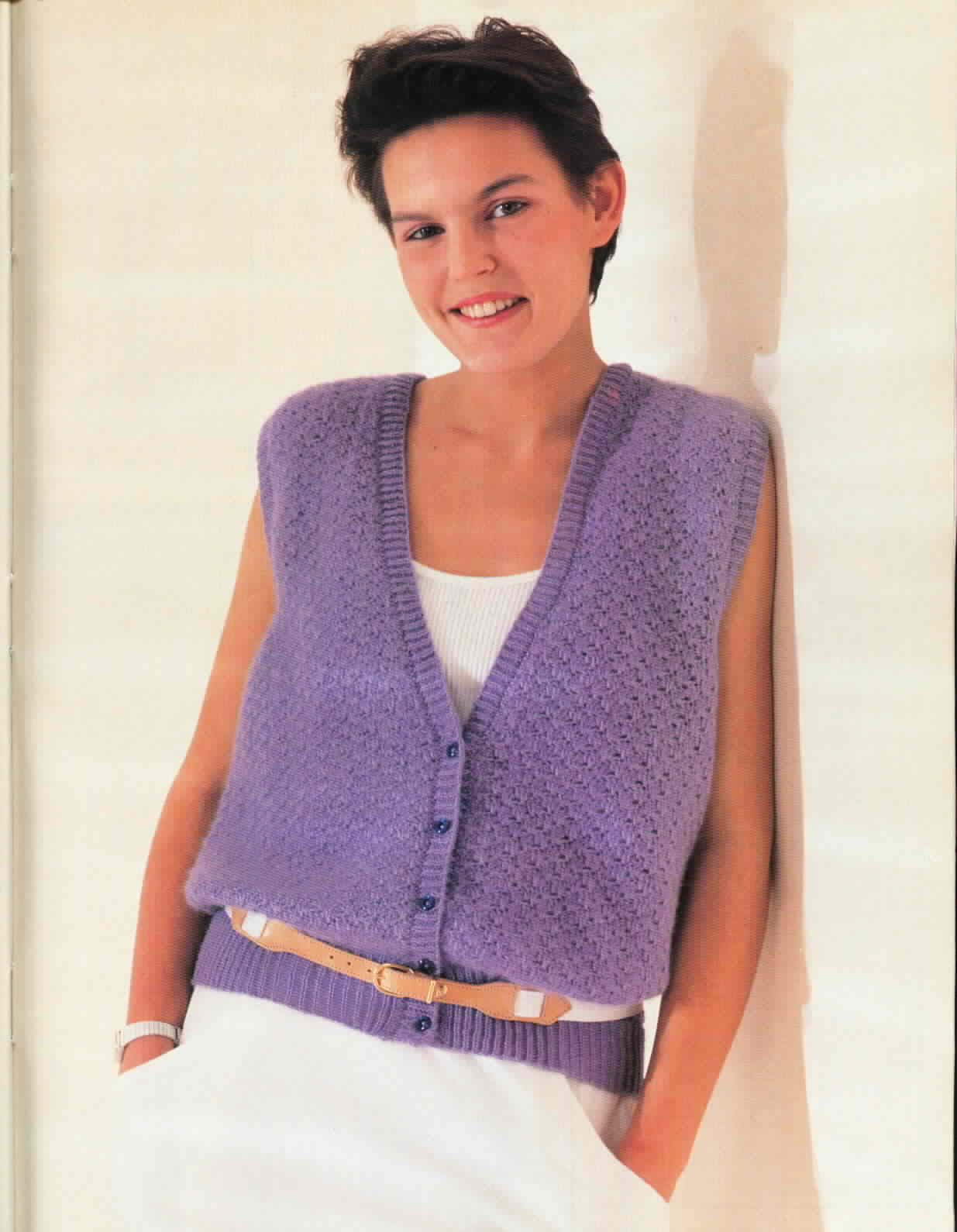 Free Crochet Vest Patterns For Women Free Crochet Patterns