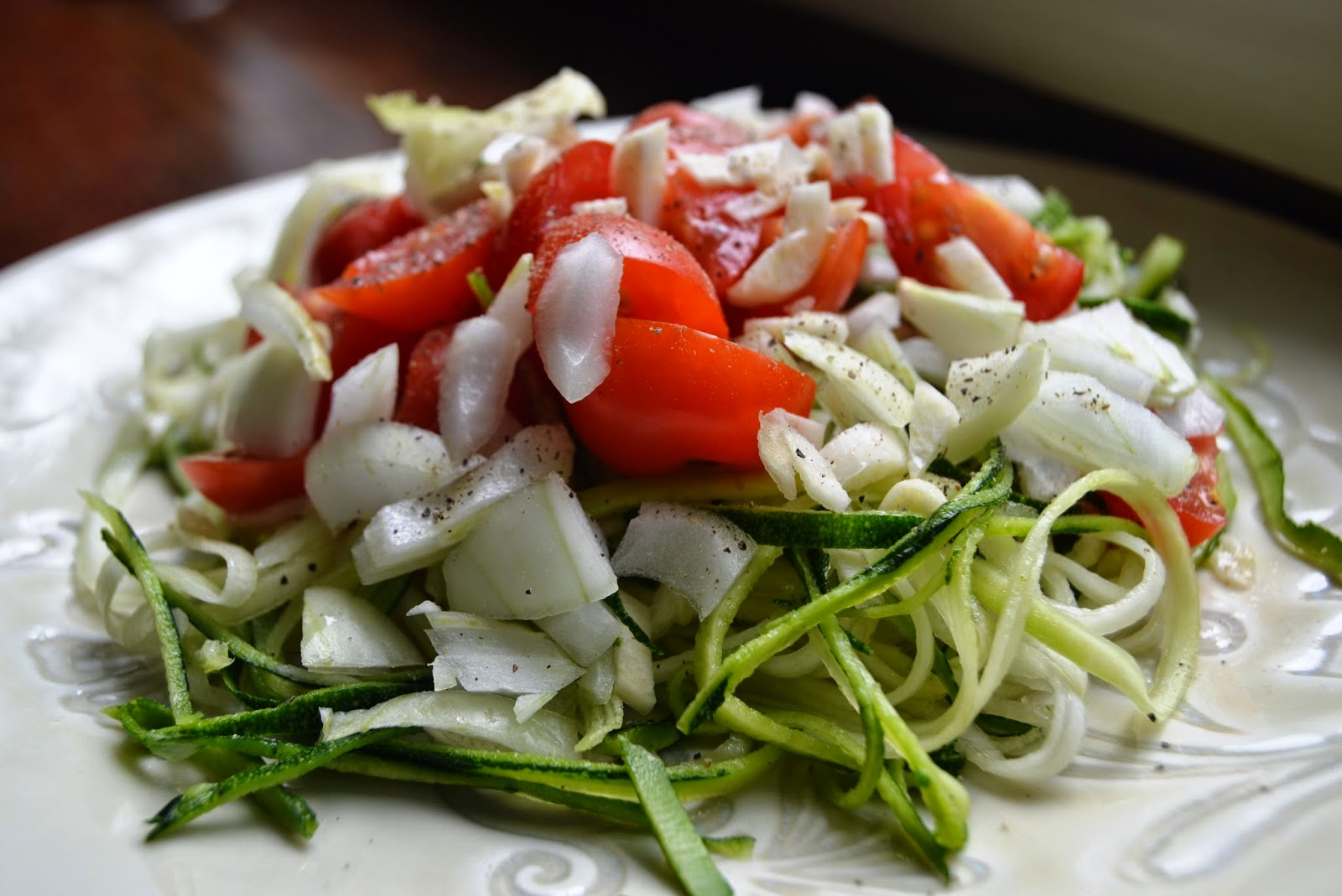 Garden Fresh Vegetable Zucchini Pasta