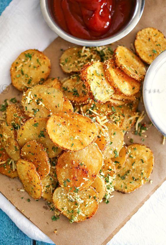 Parmesan Roasted Potatoes: Easy Family Dinner Ideas