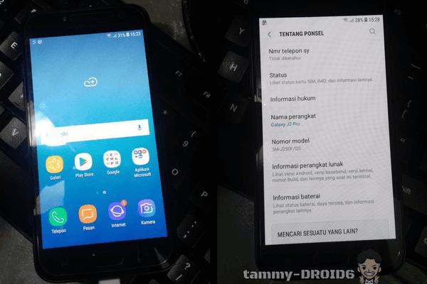 [Sukses] Bypass Frp Samsung Galaxy J2 Pro (J250F) Android 7.1.1 dengan Talkback