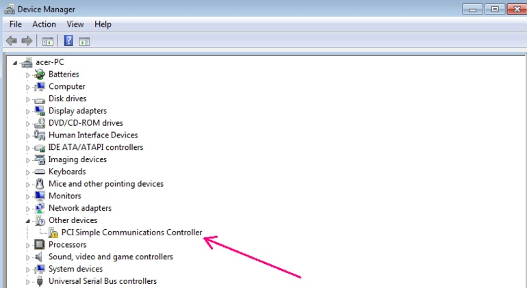 DC7900 PCI SIMPLE COMMUNICATION CONTROLLER DRIVER FOR WINDOWS DOWNLOAD