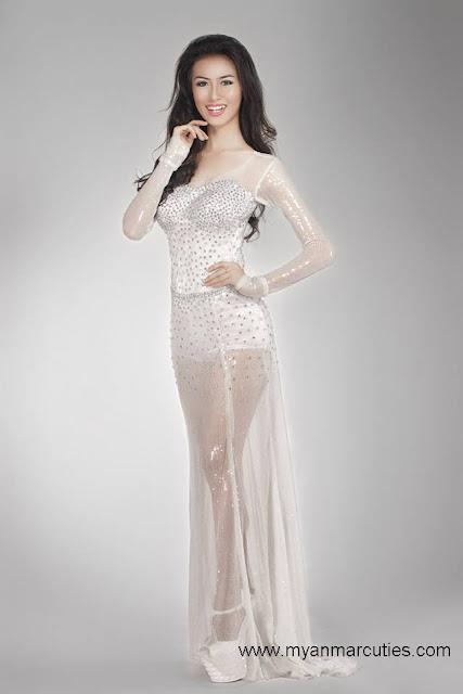 Miss Intercontinental Myanmar 2014
