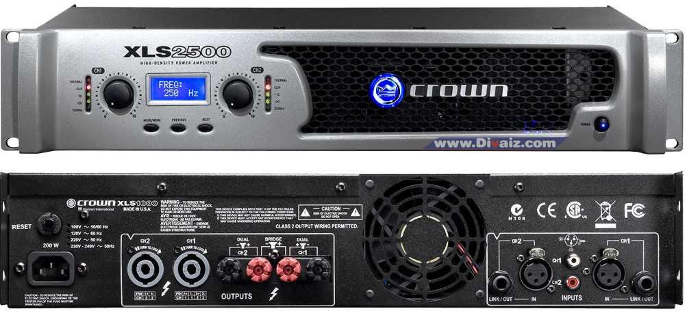 Power Amplfier XLS2500 - www.divaizz.com