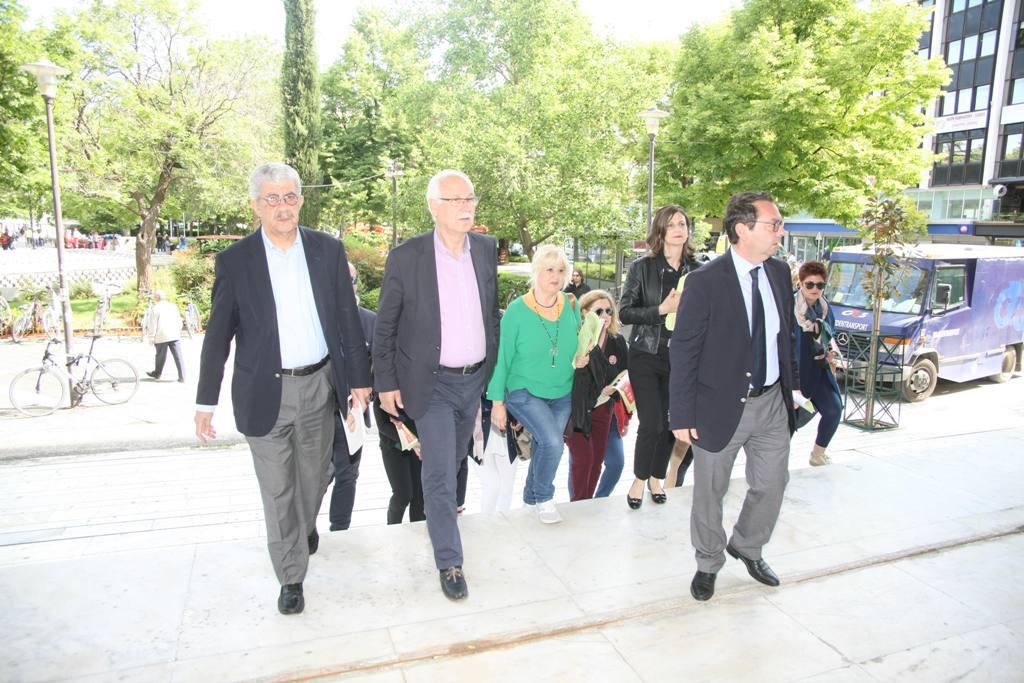 Στο Δικαστικό Μέγαρο και με την Ισραηλίτικη Κοινότητα ο Απ. Καλογιάννης (ΦΩΤΟ)