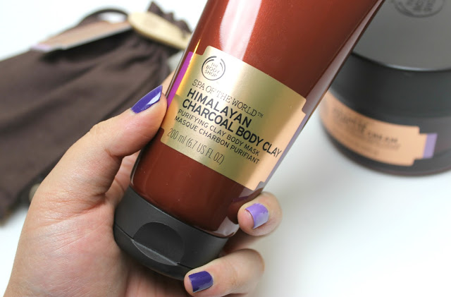 A picture of The Body Shop Spa of the World Himalayan Charcoal Body Clay