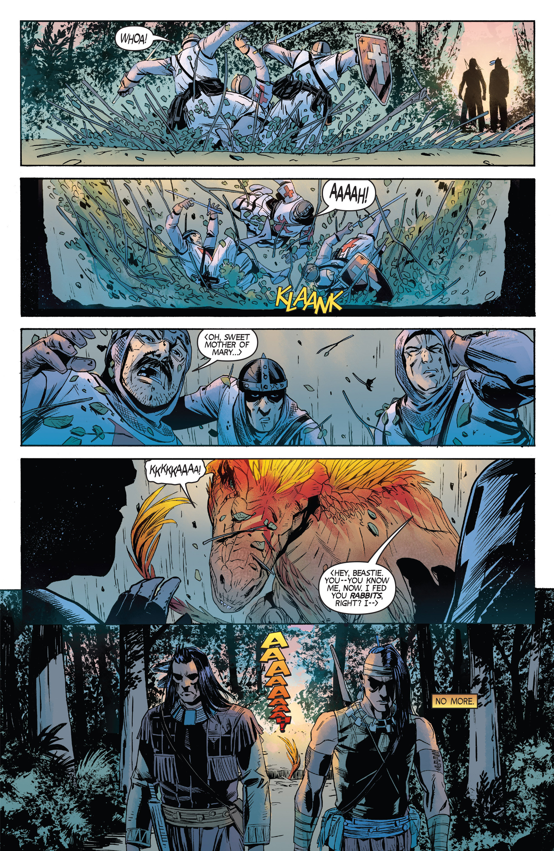 Read online Turok: Dinosaur Hunter (2014) comic -  Issue #2 - 21
