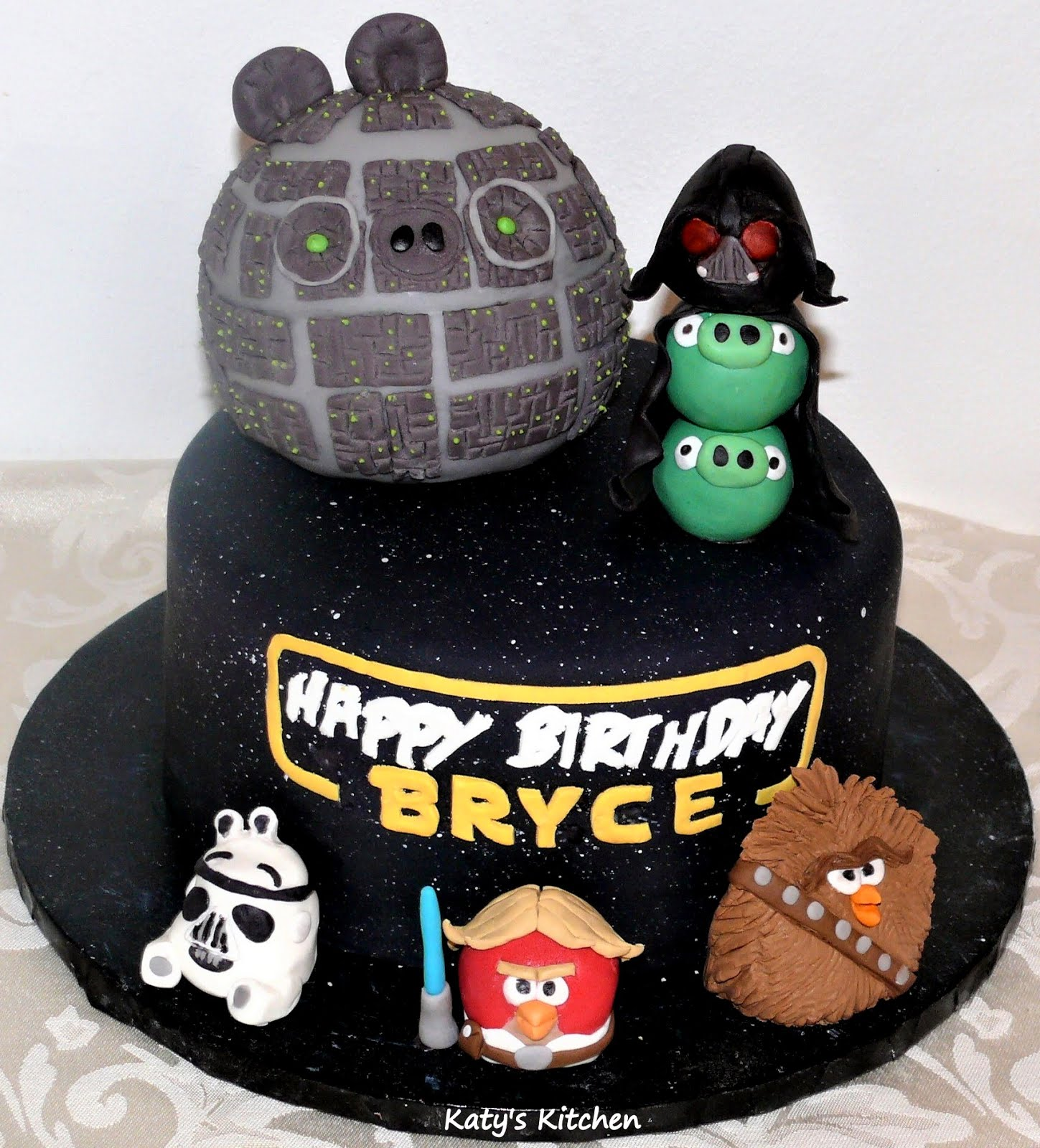 Katy S Kitchen Angry Birds Star Wars Cake