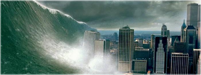 impacto de asteroide no oceano não causa tsunami como nos filmes