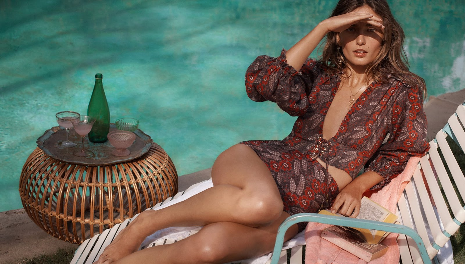 Zimmermann Summer Swim 2018 Ad Campaign