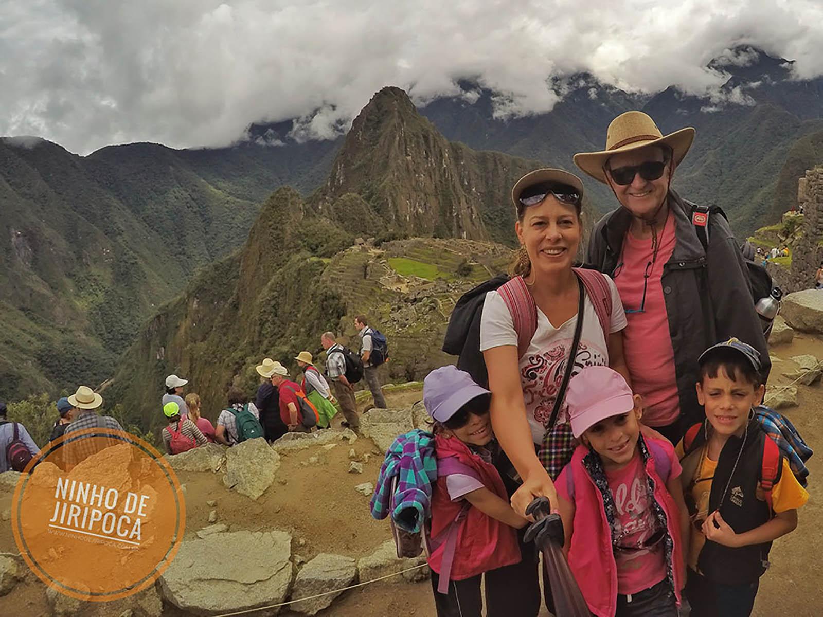 Conhecendo Machu Picchu com crianças