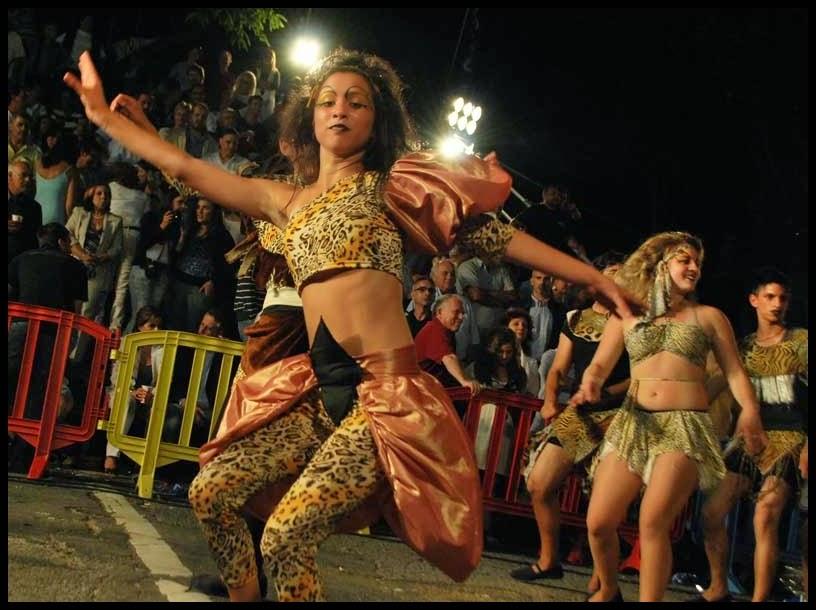 Desfile de Llamadas.Afrokán. Montevideo. 2011.
