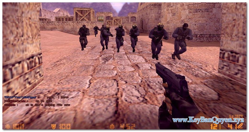 Download Counter-Strike 1.6 WarZone 2019 Full , Trò chơi bắn súng huyền thoại.
