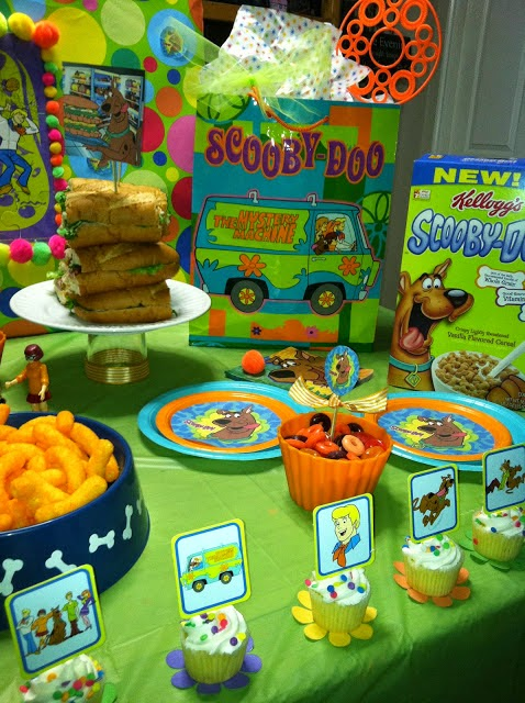 Scooby Doo B-day! 2013