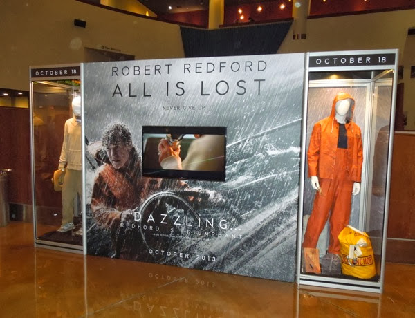All Is Lost movie costume exhibit
