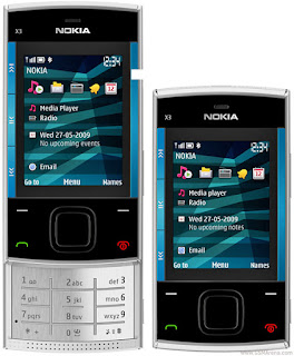 Nokia X3 with usb driver