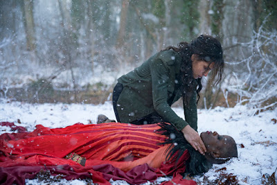 Adria Arjona and Florence Kasumba in Emerald City Series (6)