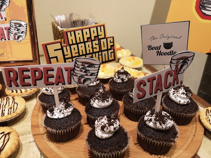 Happy Birthday Boat Noodle! Makan, Stack And Repeat!