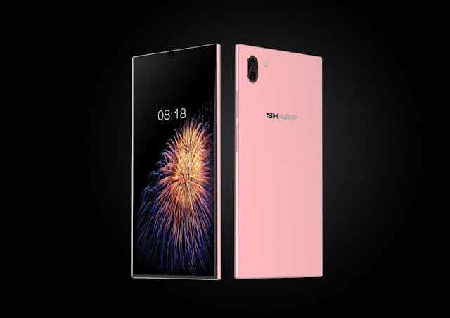 Two Sharp Bezel-less Smartphones Released Mid-July This Year
