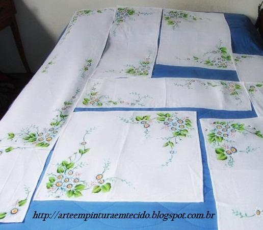 pintura em tecido flores margaridas