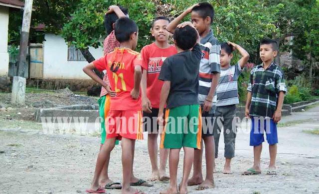 Tiro Kemie Permainan Tradisional Anak Anak Flores Timur Yang Hampir Punah Cendana News