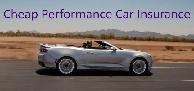 Cheap Performance Car Insurance - How to Find the Best Performance Car Insurance Rates on the Market