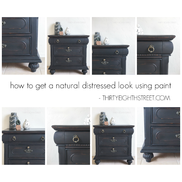 distressing furniture with paint, distressing technique for furniture, rustic furniture ideas, tips for painting furniture