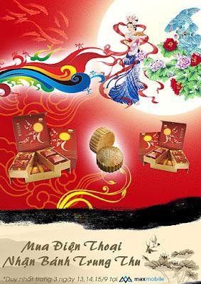 MaxMobile special event: Đón trăng vàng – Rinh ngàn quà tặng