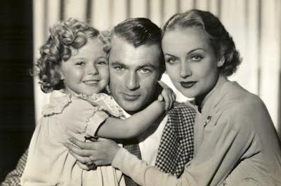 Ahora y siempre 1934: Shirley Temple, Gary Cooper, Carole Lombard