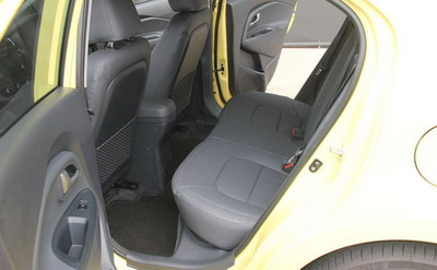Interior Kia Rio Platinum Facelift