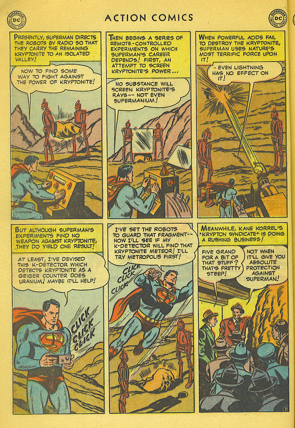Read online Action Comics (1938) comic -  Issue #158 - 9