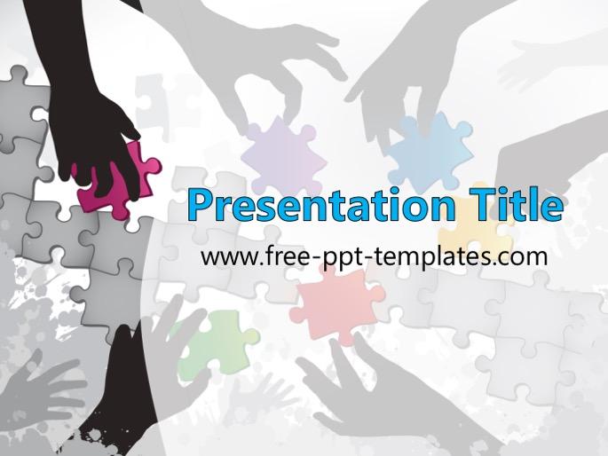 Teamwork PPT Template - teamwork powerpoint