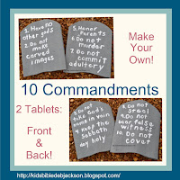 http://www.biblefunforkids.com/2014/07/make-your-own-10-commandments-tablets.html