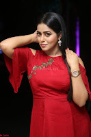 Poorna in Maroon Dress at Rakshasi movie Press meet Cute Pics ~  Exclusive 65.JPG