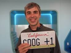 Google chief Larry Page