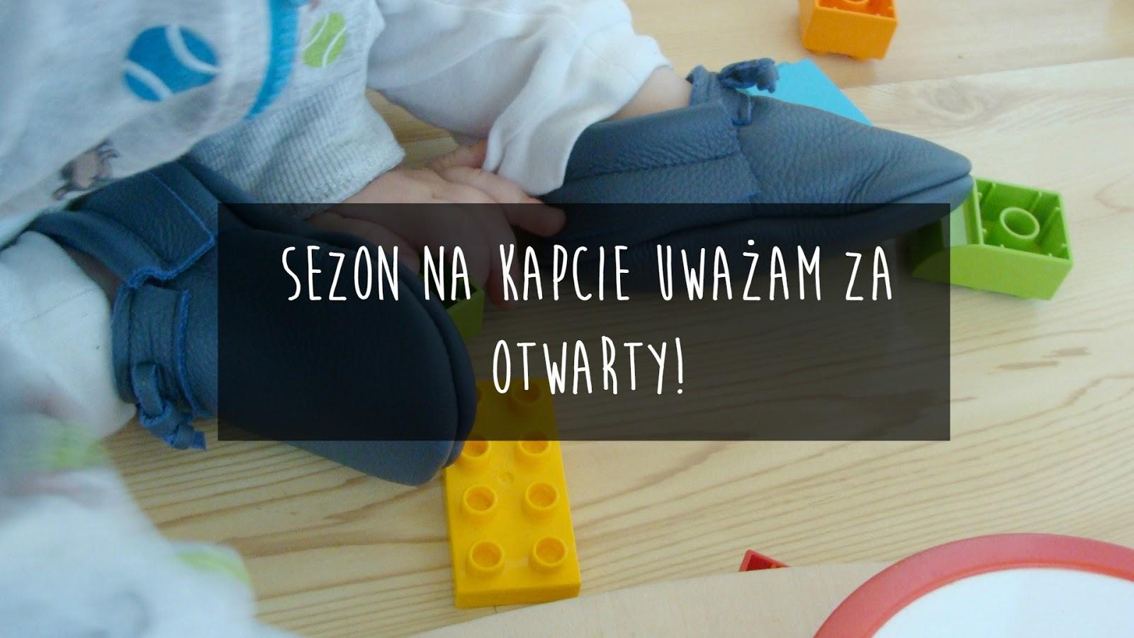 Kapcie dla małego dziecka