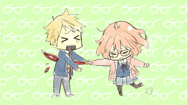 Anime Comedy Romance Kyoukai no Kanata
