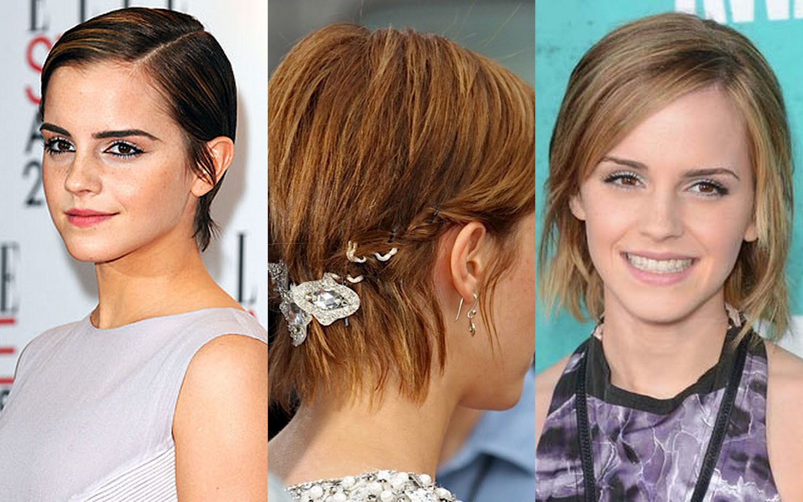 Astounding Hairstyles While Growing Out Short Hair Short Hairstyles For Short Hairstyles Gunalazisus