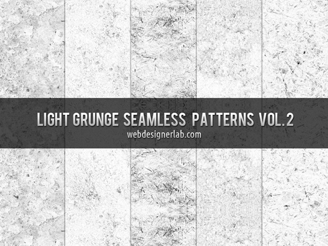Light Grunge Seamless Patterns