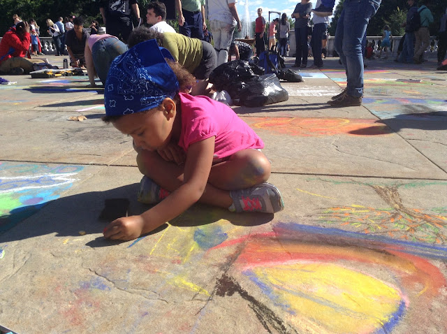 Cleveland Art Museum's Annual ChalkFest 2015