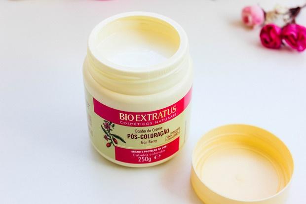 Pós-Coloração Bio Extratus Máscara de hidratação 1