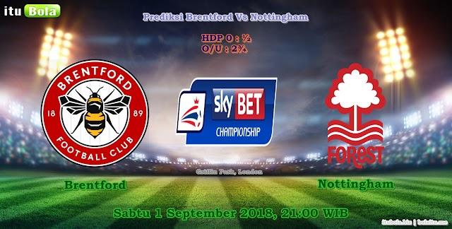 Prediksi Brentford Vs Nottingham - ituBola