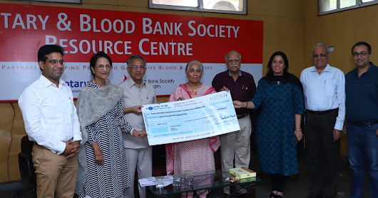 Mohan Fibre Products supports blood donation movement
