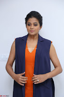 Priyamani in Beautiful Short Deep neck Orange Dress ~  Exclusive 43.JPG