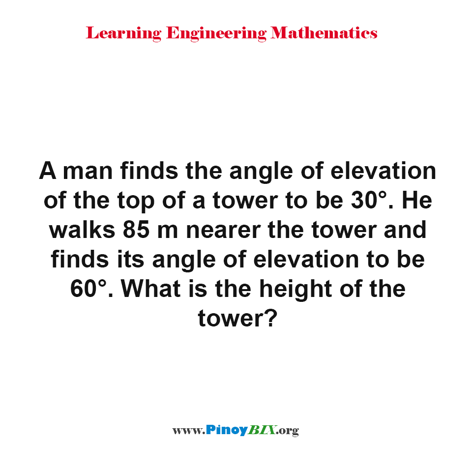 What is the height of the tower?