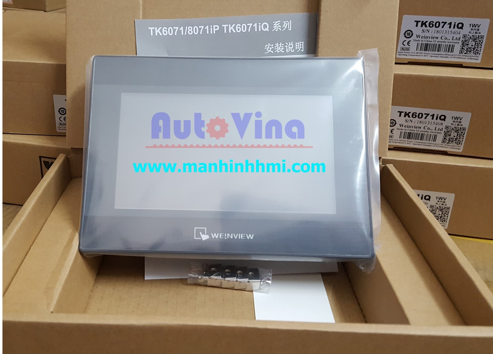 Đại lý bán màn hình cảm ứng TK6071iQ hãng Weinview giá rẻ