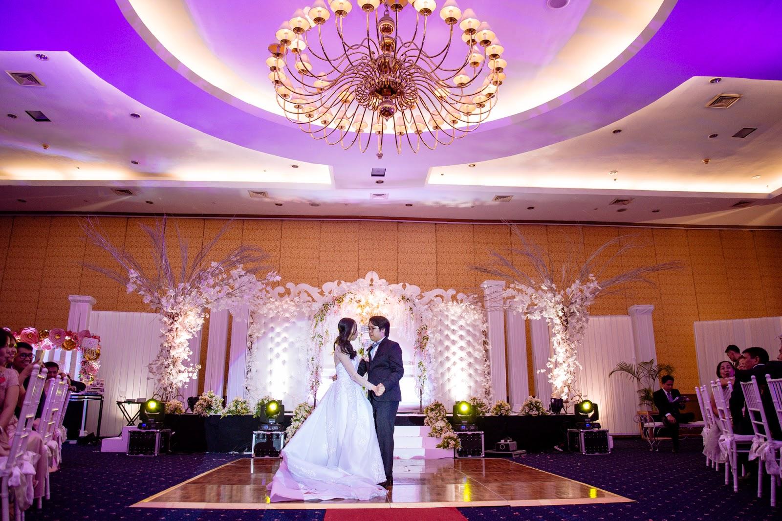 magical wedding reception
